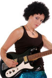 Retro 60's Rock Girl 4 Royalty Free Stock Images