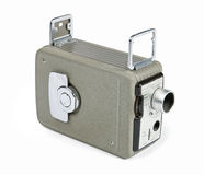 Retro 8mm camera Stock Images