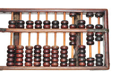 Retro Abacus With Wooden Beads Stock Image