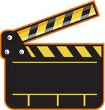 Retro aberto da placa de válvula da ardósia da câmera de filme Foto de Stock