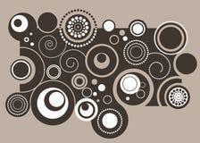 Retro abstract Stock Image