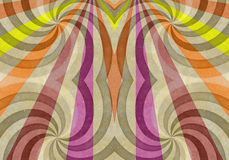 Retro Abstract Background Stock Image