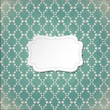 Retro abstract background. Vintage frame Royalty Free Illustration
