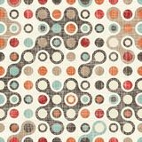 Retro abstract colorful seamless pattern vector illustration