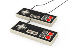 Retro Abstract Game Controllers Royalty Free Stock Images