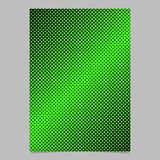 Retro abstract halftone dot background pattern flyer design. Green retro abstract halftone dot background pattern flyer design Royalty Free Stock Image