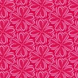 Retro abstract hart naadloos patroon Vectorillustratie voor romantisch nostalgieontwerp Kan voor behang worden gebruikt, vulling  Royalty-vrije Stock Afbeelding