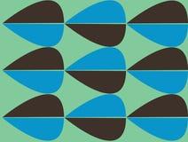 Retro abstract patroon Royalty-vrije Stock Afbeeldingen
