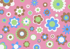 Retro abstract pattern Stock Image