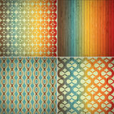Retro abstract seamless pattern Royalty Free Stock Image