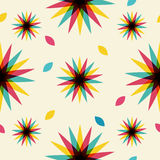 Retro abstract seamless pattern Royalty Free Stock Images