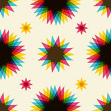 Retro abstract seamless pattern Royalty Free Stock Photos