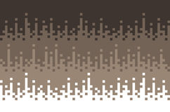 Retro, abstract square blocks background, pixels background, brown color. Vector design. Royalty Free Stock Images