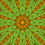 Retro abstract sun Royalty Free Stock Images