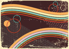 Retro Abstract.Vintage  background Royalty Free Stock Images