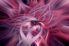 Retro abstract whirl and swirls royalty free stock photo