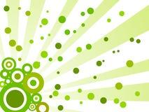 Retro abstracte groene achtergrond Stock Fotografie