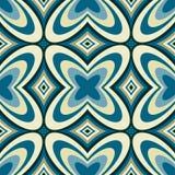 Retro Abstracte Naadloze Patroon van het Behang Royalty-vrije Stock Foto's