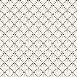 Retro abstrakcjonistycznej siatki bezszwowy wzór ilustracji