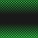 Retro abstrakcjonistyczny halftone wzoru tło - wektorowa ilustracja od kwadratów i kropek Zdjęcia Royalty Free