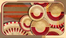 retro abstrakcjonistyczny tło Zdjęcie Stock