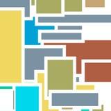 Retro abstrakcjonistyczny tło Obraz Stock