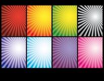 retro abstrakcjonistyczny tło Obrazy Stock