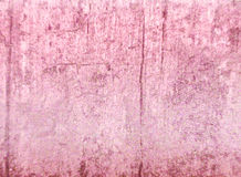 Texturerad rosa bakgrund Arkivbilder