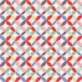Retro abstrakt seamless mönstrar Arkivfoton