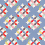 Retro abstrakt seamless mönstrar Royaltyfria Bilder