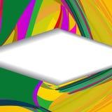 Retro- abstrakte Illustration Stockbild
