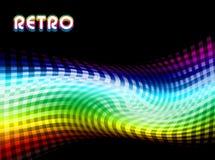 Retro- abstrakte Rotation Stockfoto