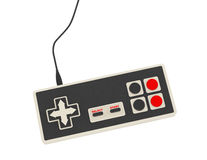 Retro- abstrakter Gamecontroller Stockbilder