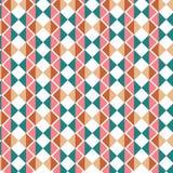 Retro- abstrakter geometrischer Vektorhintergrundentwurf Bunte Rückseite vektor abbildung