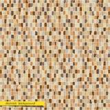 Retro- abstrakter Mosaikhintergrund Lizenzfreies Stockbild