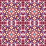Retro- abstraktes purpurrotes Muster Lizenzfreie Stockfotografie