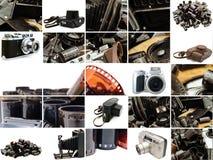 Retro accessorio della foto fotografia stock libera da diritti