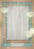 Retro achtergrond met paardebloembloemen Royalty-vrije Stock Fotografie