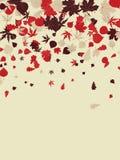 Retro achtergrond van de herfst. EPS 8 royalty-vrije illustratie