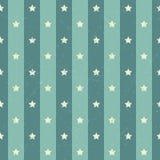 Retro achtergrond van de polka Amerikaanse ster vector illustratie