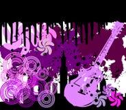Retro Achtergrond van Grunge Stock Afbeelding