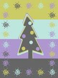 Retro achtergrond van Kerstmis vector illustratie