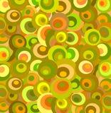 Retro Achtergrond in Warme Kleuren Stock Afbeeldingen