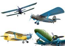 Retro aerei Immagini Stock