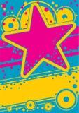 Retro affiche royalty-vrije illustratie