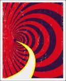 Retro affiche, de klassieke versie van de affiche voor uw creativiteit Royalty-vrije Stock Afbeeldingen