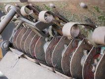 Retro agricultural machine. Stock Image