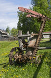 Retro agricultural machinery Royalty Free Stock Photo