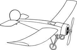 Retro Airplane Royalty Free Stock Photo