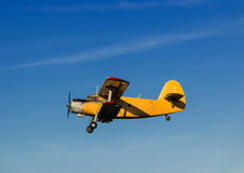Retro airplane Royalty Free Stock Image